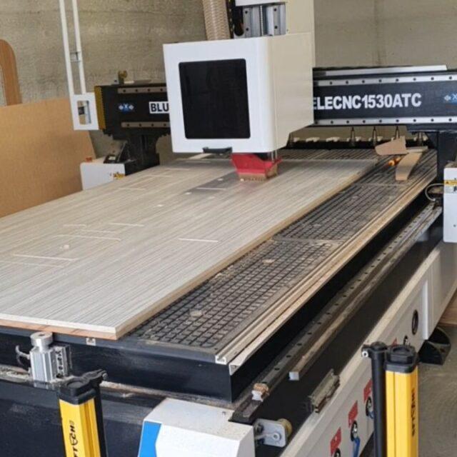 CNC machine hard at it this Saturday morning 😁
