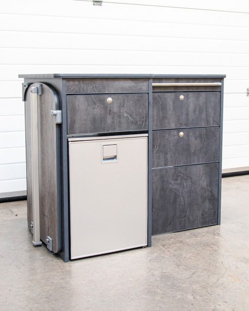 Kitchen Pods available for all types of campervan. Designed to work with Dometic 9722R hob. These are available for £395. Assembly required and Fridge not included. Please see our website for more details. www.davanco.co.uk #kitchenpod #diycamper #buildyourowncamper #cnccamper #cnccampervan